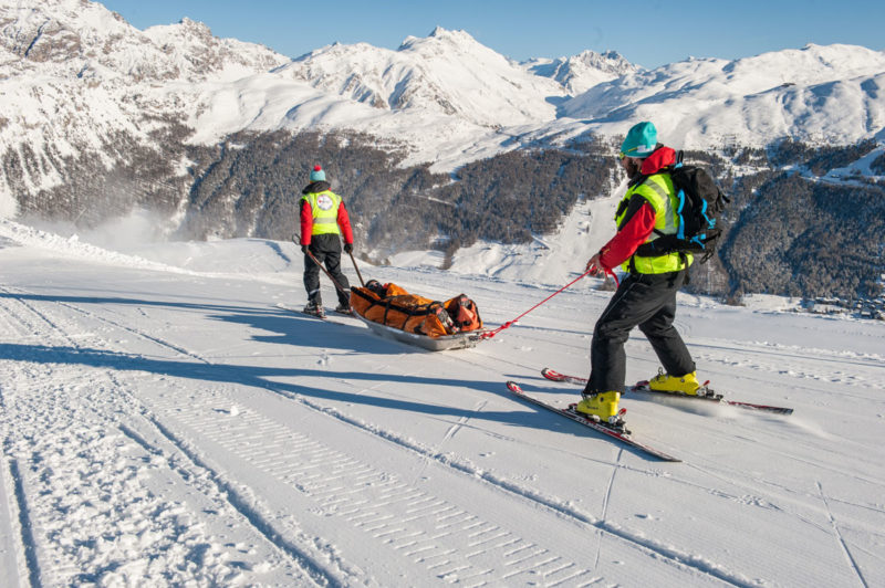 Ski slopes rescue Livigno