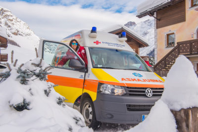 ambulanza livigno